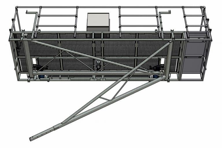 Besseling Techniek Inklapbaar Platform